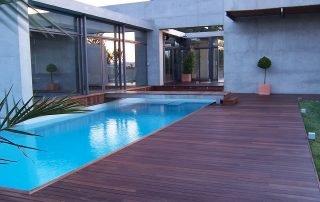 Tarima exterior Topfloor de madera de IPE