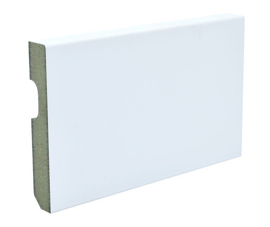 Zócalo Rodapié blanco lacado 8cm