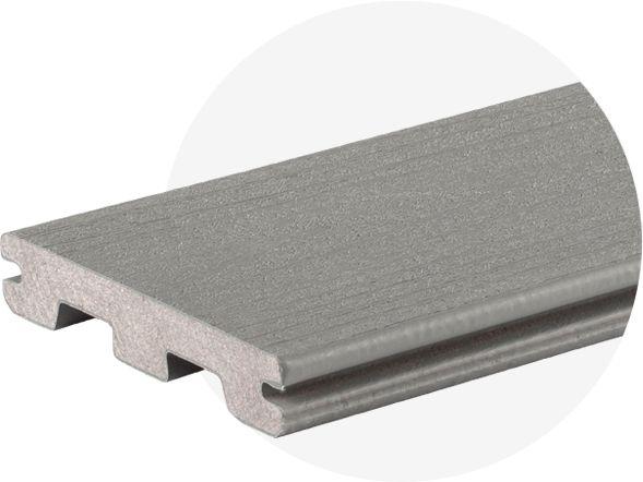 Tarima exterior Timbertech Reliaboard Grey
