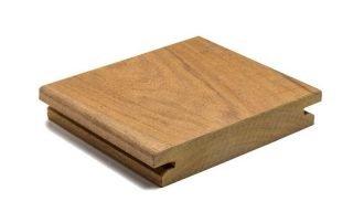 Tarima exterior Topfloor de madera de Iroko africano
