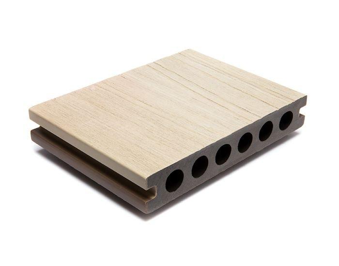 Tarima exterior sintética Urban Deck Top Duo Marfil/Gris