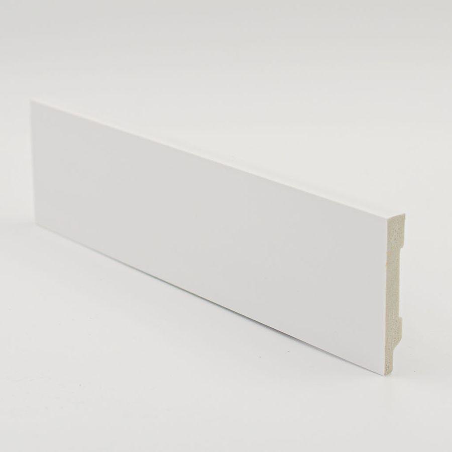 Zócalo Rodapié de PVC hidrófugo blanco 7cm