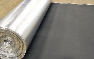 Base aislante Topfloor EVA con film plata antihumedad de 2mm